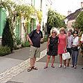 Arrêt à Chédigny, le village des Roses