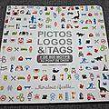 Livre de point de croix : pictos logos et tags a. sohier-fournel