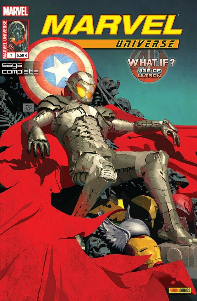 marvel universe V3 07 what if ultron