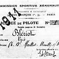 Les premiers brevets de pilote - aviateur.