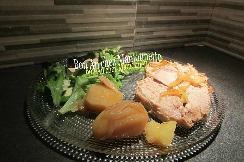 Rôti de porc fermier pdt 010