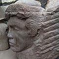 Fu sculpteur - pierre - grès - taille directe - démonstration - Egypte - sculpture secret - artist - stone