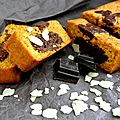 Carrot cake marbré