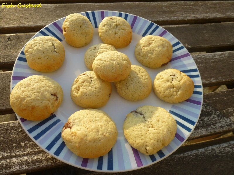 Cookies coeur coulant nutella (12)
