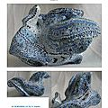 page 29 2013-TOTUM 83 SCHMIMBLOCK'S fondo 9cmX6,5cm gouache T7 sur argile