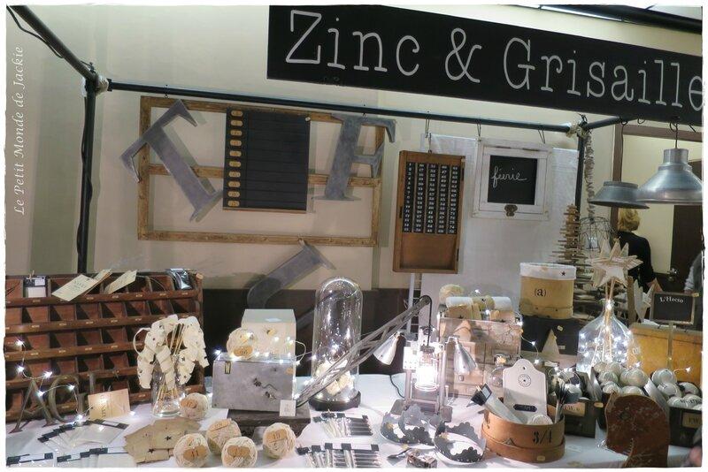 Zinc et Grisaille
