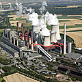 centrale à lignite en Allemagne