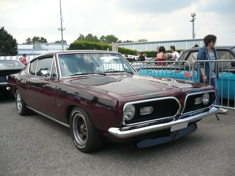 PLYMOUTH Barracuda 340S fastback coupé 1969 Illzach (1)