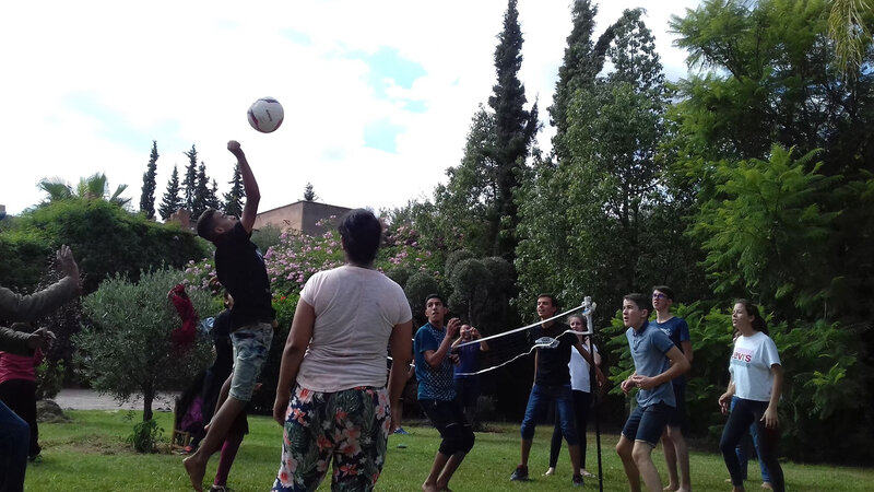 Match de volley