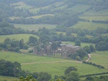 la vallée du prieuré de llanthony