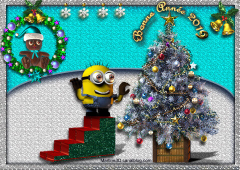 2019-carte-minion-sapin-decorations