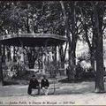 Le kiosque de la Place du Vigean en 1900