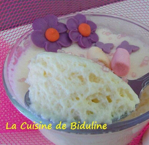 Mousse gourmande aux Chamallows - La cuisine de Biduline
