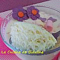 Mousse gourmande aux chamallows