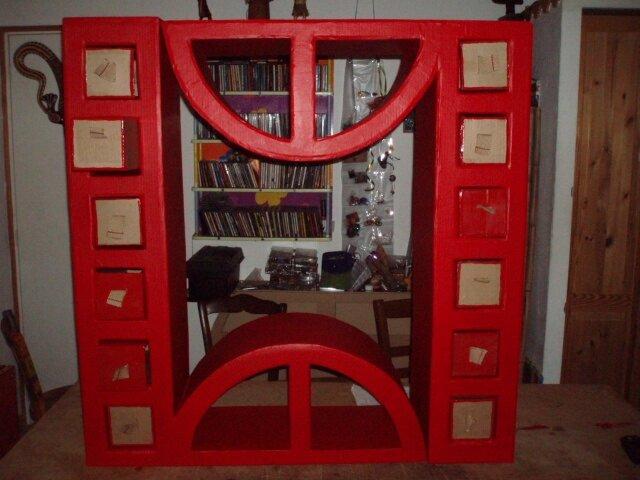 meuble réalisé en stage 5