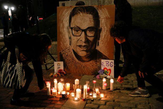 Ruth Ginsburg memorial