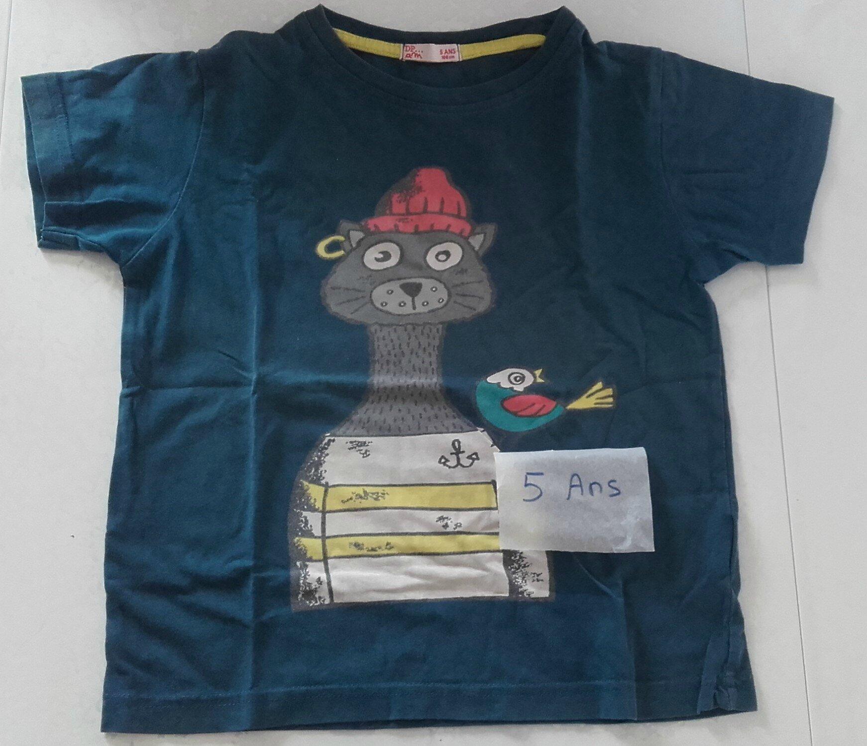 tshirt DPAM : 2 euros