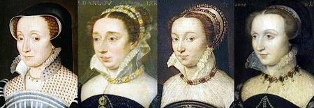 Dames françaises des années 1560