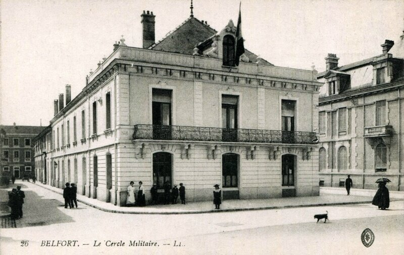 CPA Belfort Cercle militaire
