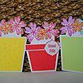 cartes pot de fleur
