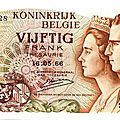 1966 50 francs recto Baudouin & Fabiola