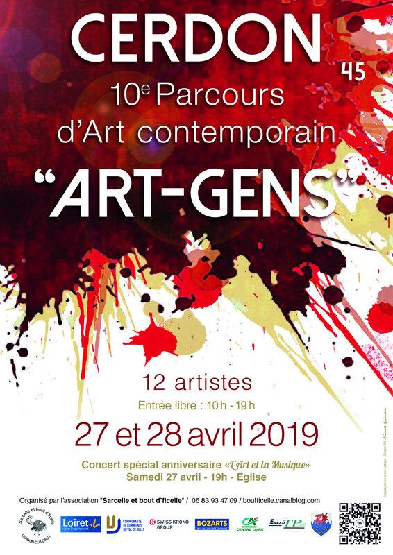ART-GENS affiche A4 (2019)