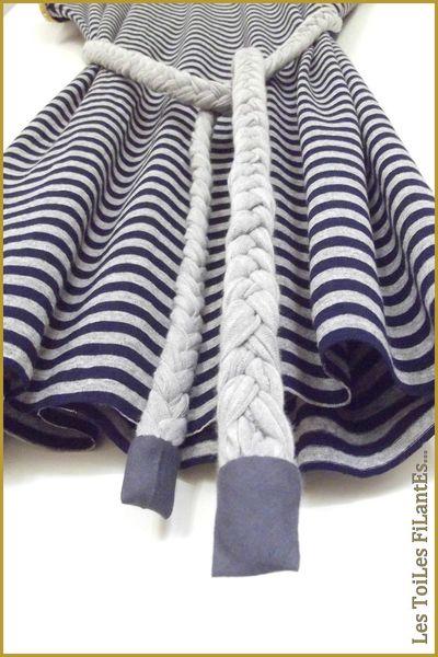 06-Robe tunique jersey rayé2