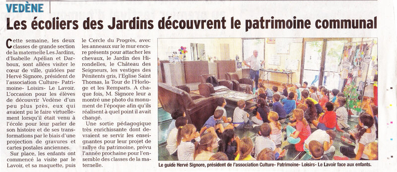 article visite guidée