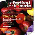 8ème festival de la tomate à clapiers (7 septembre 2014)