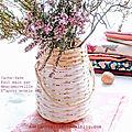 cache-vase de papier 2 confectionné par ©marimerveille