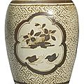 A 'JIzhou' painted 'ducks' vase, Southern Song dynasty