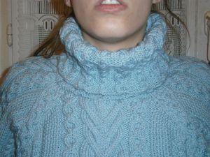 Pull à raglans Oxygène Amande (5)