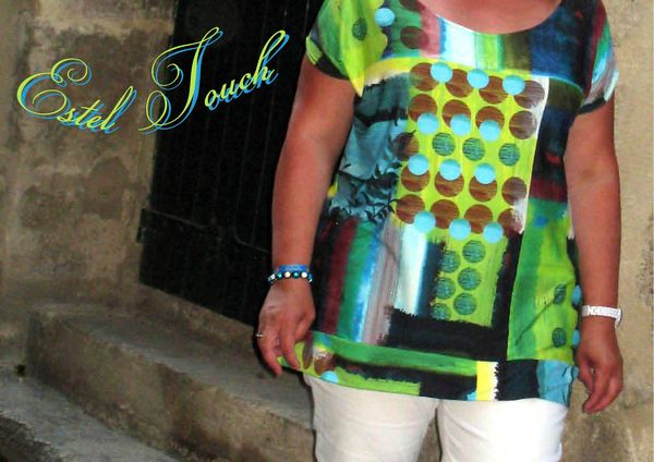 t shirt turquoise