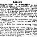 Eclaireur de nice 3 et 5 novembre 1923