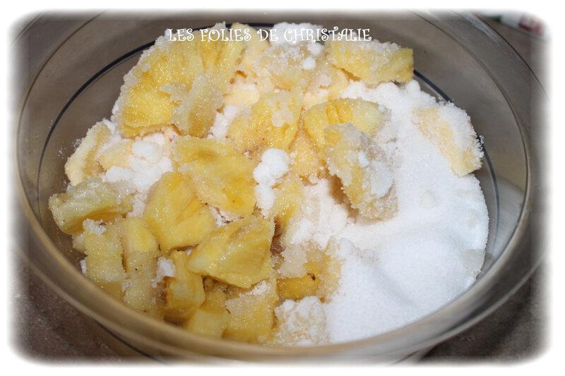 Confiture ananas 1