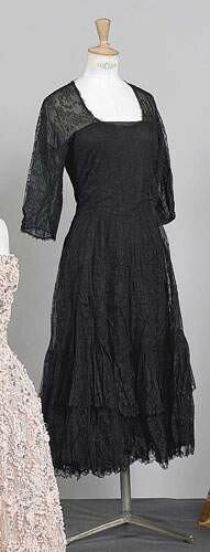 BALENCIAGA, haute couture, n 40231, circa 1950 - Robe de cocktai
