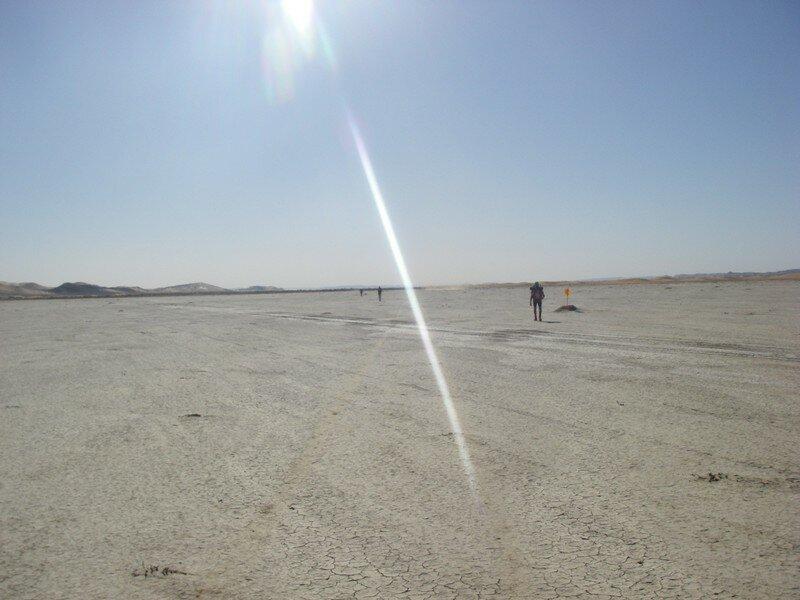 Le désert à perte de vue