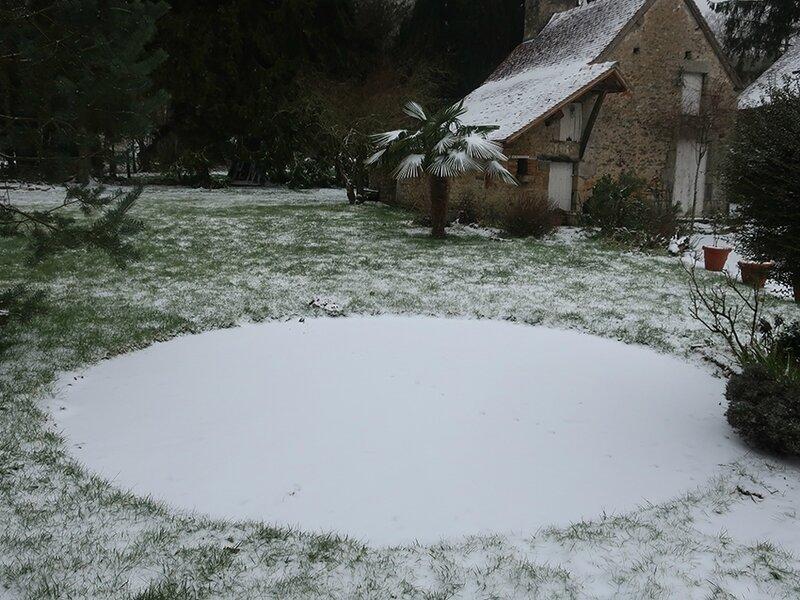 neige f