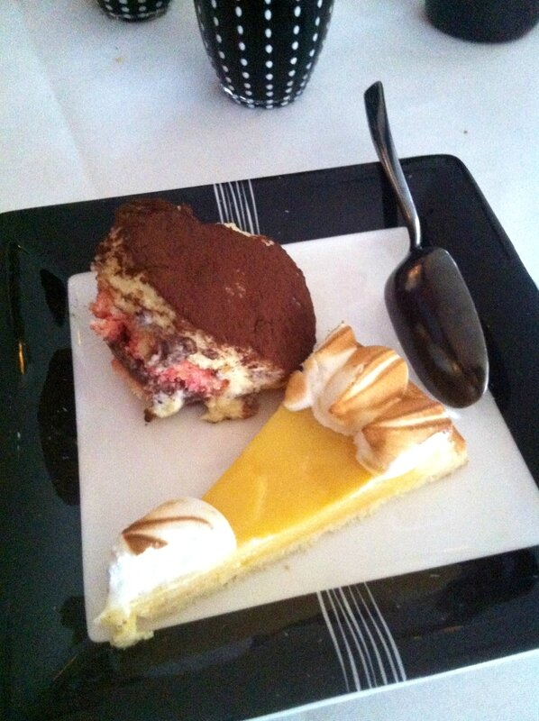 Mori Venice Bar Assiette desserts