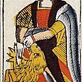 La Force carte du tarot Viéville ca 1650