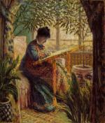 1875, Camille au métier