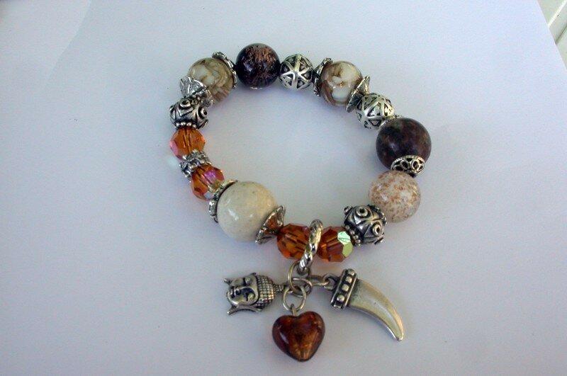 bra (swaro, nacre, pierres naturelles, métal...)