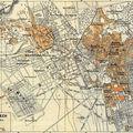 Vieux plan de marrakech