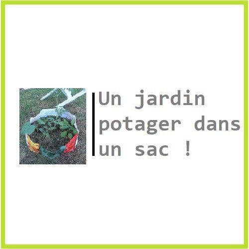 Un jardin potager dans un sac