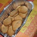 Cookies à l'épeautre, chocolat/cacahuètes pour sabrina