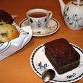 Quelques grammes de douceur dans un monde de brutes : le moelleux chocolat à la crème de matcha by suzu