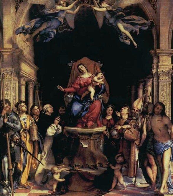 LOTTO lorenzo eglise san BARTOLOMEO bergame