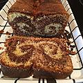 Gâteau marbré - recette moulinex pour le robot companion
