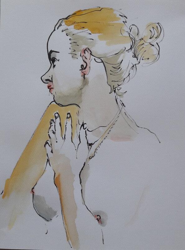 aquarelle alain montoir peintre sculpteur près de nimes5