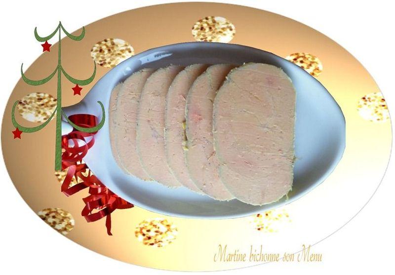 Foie gras cuit à l'eau